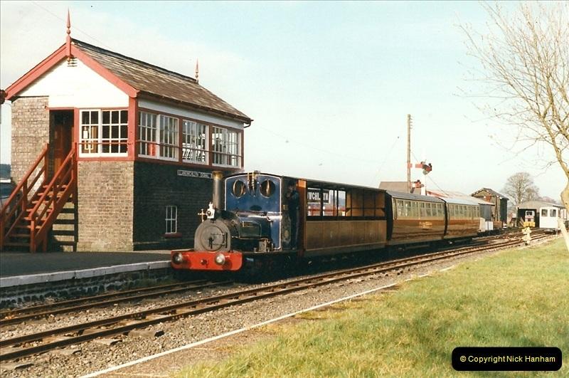 2000-03-11 Bala Lake Railway, North Wales.  (9)073