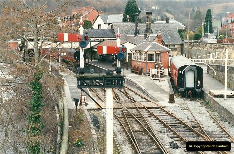 2000-03-11 Llangollen Railway, North Wales.  (2)081
