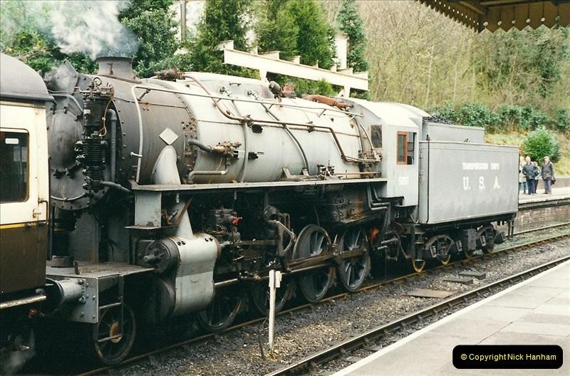 2000-03-11 Llangollen Railway, North Wales.  (9)088