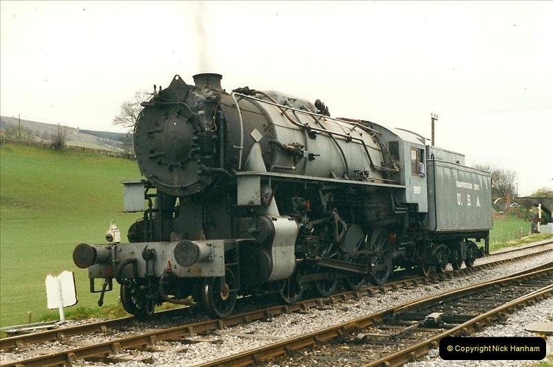 2000-03-11 Llangollen Railway, North Wales.  (19)098