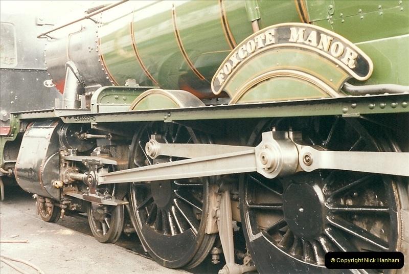 2000-03-11 Llangollen Railway, North Wales.  (36)115