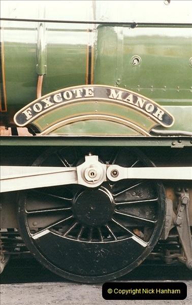 2000-03-11 Llangollen Railway, North Wales.  (38)117