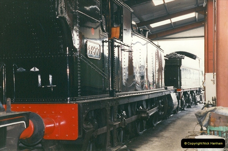 2000-03-11 Llangollen Railway, North Wales.  (43)122