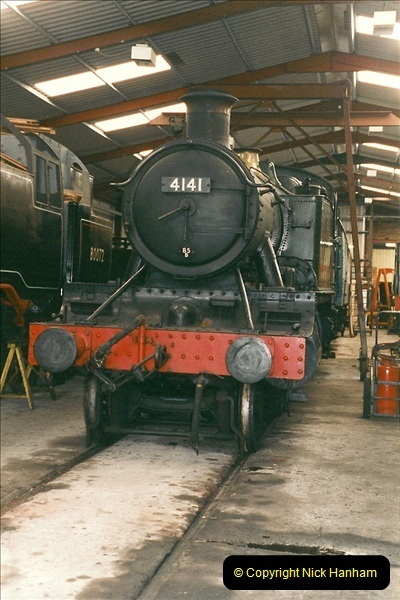 2000-03-11 Llangollen Railway, North Wales.  (44)123