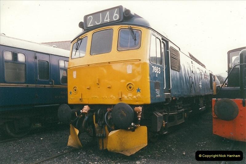 2000-03-11 Llangollen Railway, North Wales.  (47)126