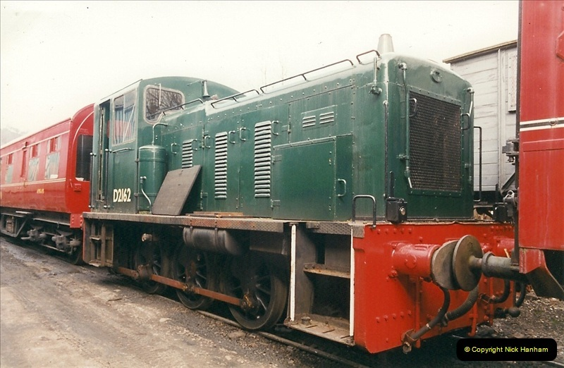 2000-03-11 Llangollen Railway, North Wales.  (51)130