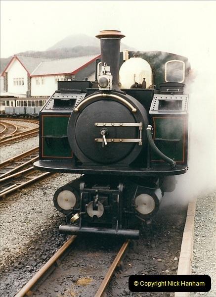 2000-03-12 Ffestinog Railway, North Wales.  (4)139