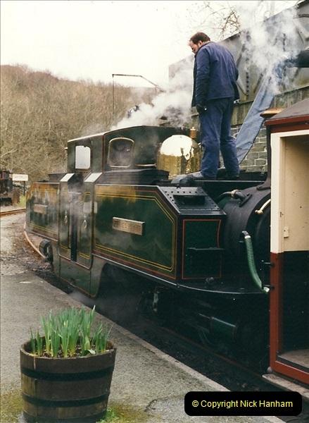 2000-03-12 Ffestinog Railway, North Wales.  (13)148