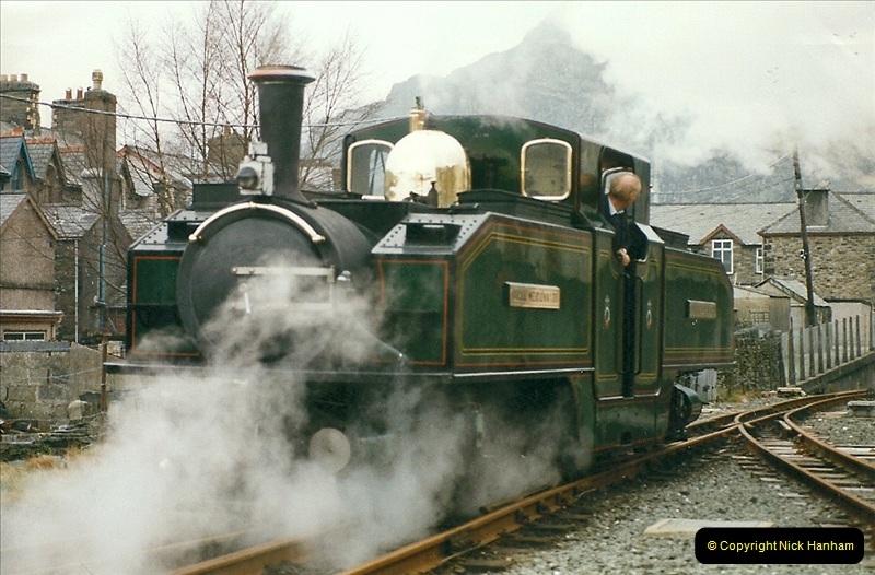 2000-03-12 Ffestinog Railway, North Wales.  (24)159