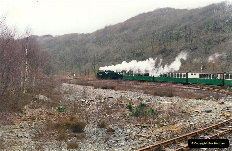 2000-03-12 Ffestinog Railway, North Wales.  (27)162