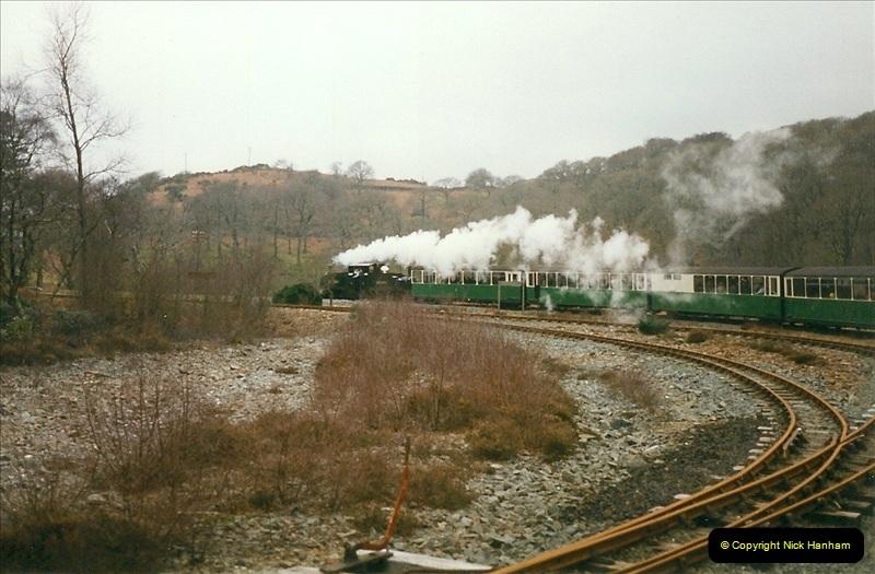 2000-03-12 Ffestinog Railway, North Wales.  (28)163