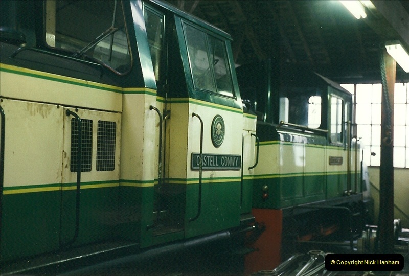 2000-03-12 Ffestinog Railway, North Wales.  (46)181