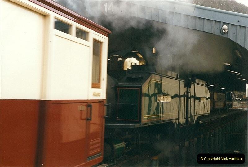 2000-03-12 Ffestinog Railway, North Wales.  (50)185