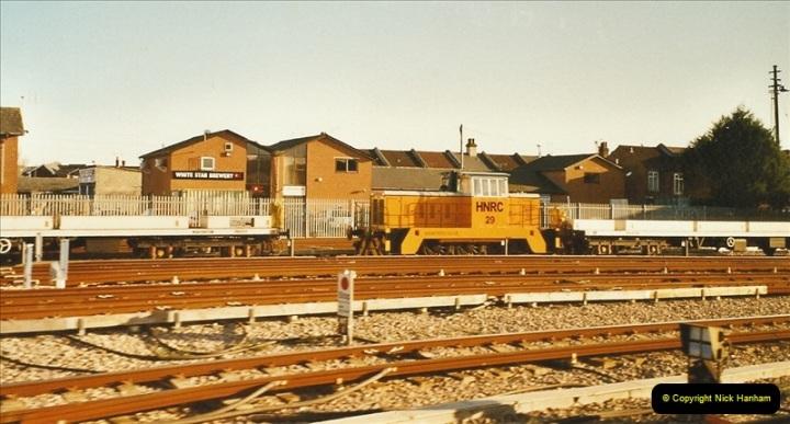 2003-12-07 New train care depot @ Northam, Southampton.  (2)285