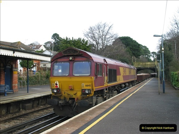 2000 to 2009 Local Rail. Bournemouth to Poole. Dorset (268)268