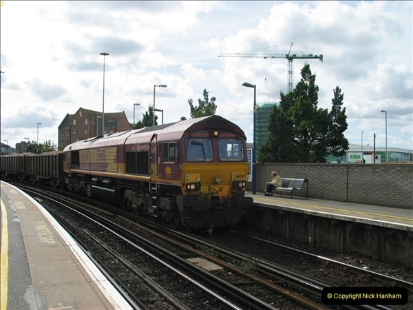 2000 to 2009 Local Rail. Bournemouth to Poole. Dorset (352)352