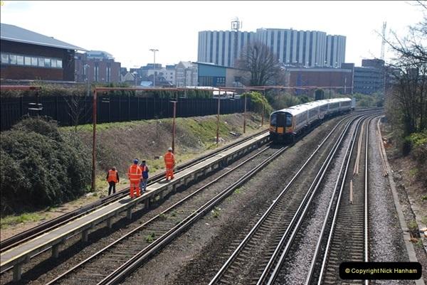 2000 to 2009 Local Rail. Poole to Hamworthy. Dorset (15)415
