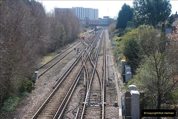 2000 to 2009 Local Rail. Poole to Hamworthy. Dorset (23)423