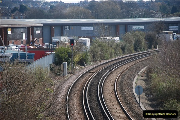 2000 to 2009 Local Rail. Poole to Hamworthy. Dorset (32)432