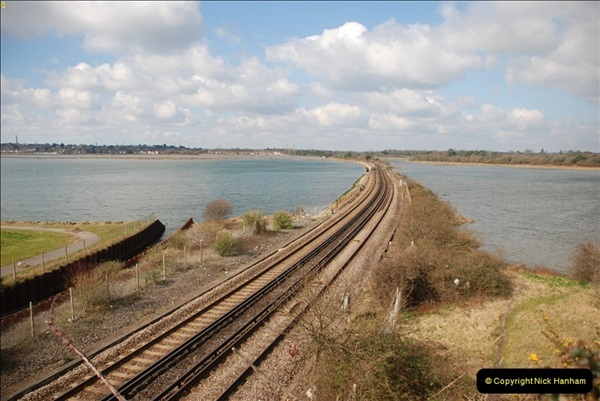 2000 to 2009 Local Rail. Poole to Hamworthy. Dorset (42)442
