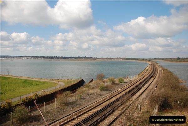 2000 to 2009 Local Rail. Poole to Hamworthy. Dorset (43)443