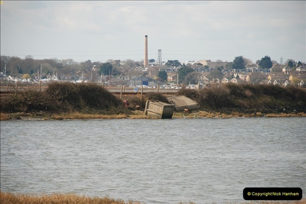 2000 to 2009 Local Rail. Poole to Hamworthy. Dorset (47)447