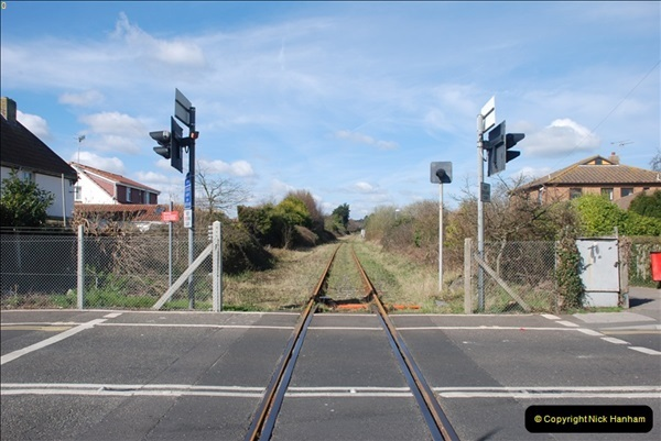 2000 to 2009 Local Rail. Poole to Hamworthy. Dorset (151)551