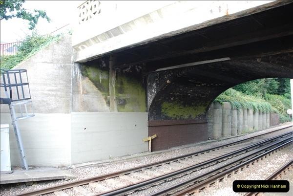 2011-08-30 Road bridge extension @ Parkstone station, Poole, Dorset.   (14)571