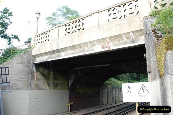 2011-08-30 Road bridge extension @ Parkstone station, Poole, Dorset.   (16)573