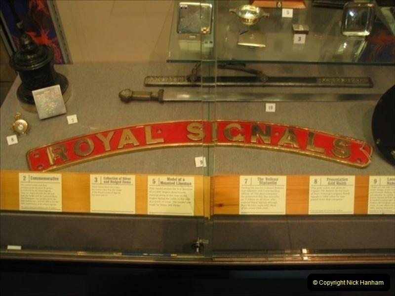2004-10-11 The Royal Signals Museum, Blandford Forum, Dorset.  (2)047