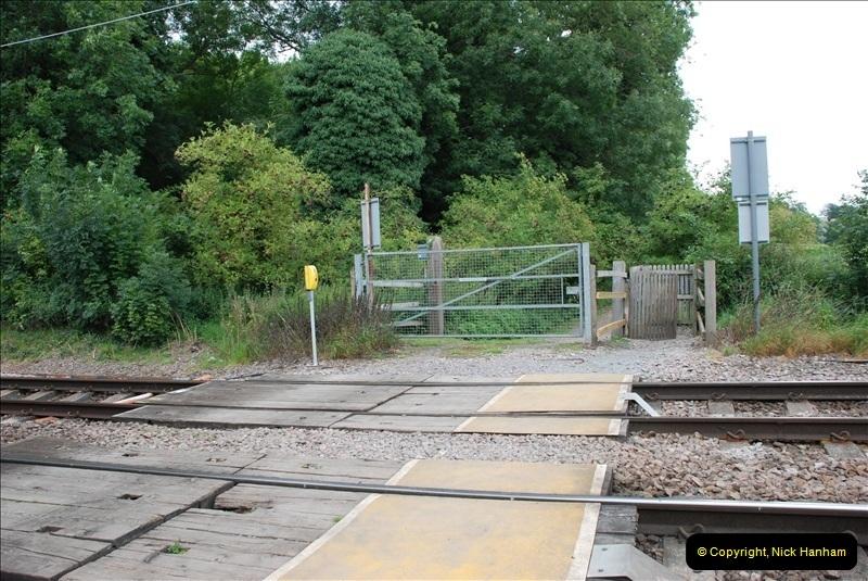 2011-08-06 Crossing near St. Margarets, Hertfordshire.  (8)101