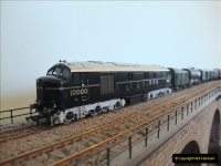 Some of your Host's model locomotives running on a friends railway.  (7)07