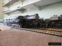 Some of your Host's model locomotives running on a friends railway.  (10)10
