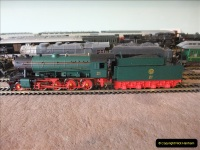Some of your Host's model locomotives running on a friends railway.  (11)11