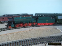 Some of your Host's model locomotives running on a friends railway.  (12)12