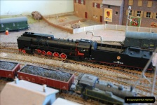 Some of your Host's model locomotives running on a friends railway.  (43)43