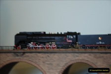 Some of your Host's model locomotives running on a friends railway.  (49)49