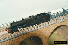 Some of your Host's model locomotives running on a friends railway.  (61)61