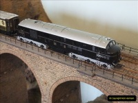 Some of your Host's model locomotives running on a friends railway.  (2)02