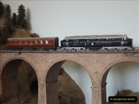 Some of your Host's model locomotives running on a friends railway.  (4)04