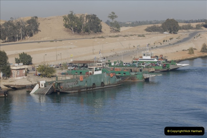 2011-11-10 North to South Transit of the Suez Canal, Egypt.  (60)