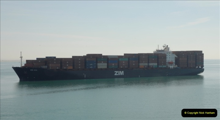 2011-11-10 North to South Transit of the Suez Canal, Egypt.  (110)
