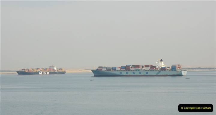 2011-11-10 North to South Transit of the Suez Canal, Egypt.  (112)