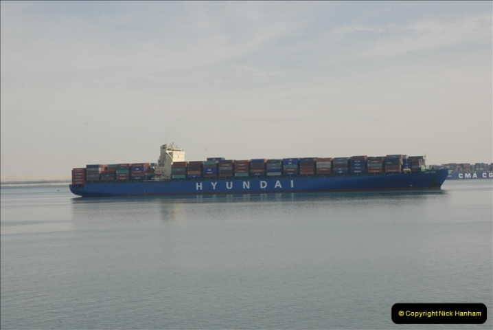 2011-11-10 North to South Transit of the Suez Canal, Egypt.  (129)
