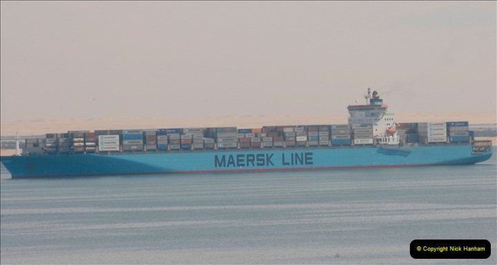 2011-11-10 North to South Transit of the Suez Canal, Egypt.  (136)