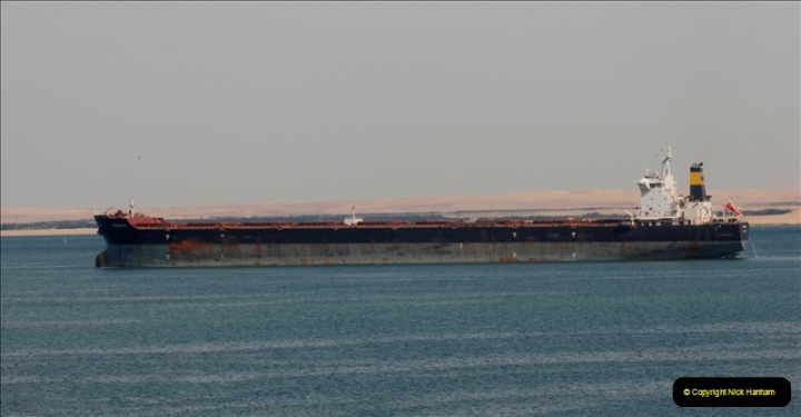 2011-11-10 North to South Transit of the Suez Canal, Egypt.  (151)