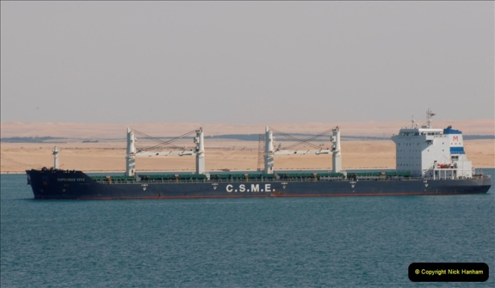 2011-11-10 North to South Transit of the Suez Canal, Egypt.  (153)