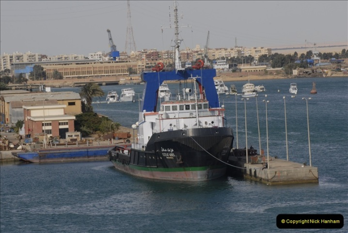 2011-11-10 North to South Transit of the Suez Canal, Egypt.  (218)