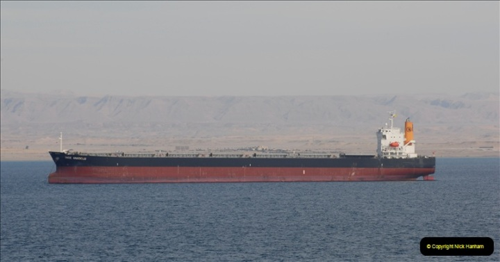 2011-11-10 North to South Transit of the Suez Canal, Egypt.  (242)