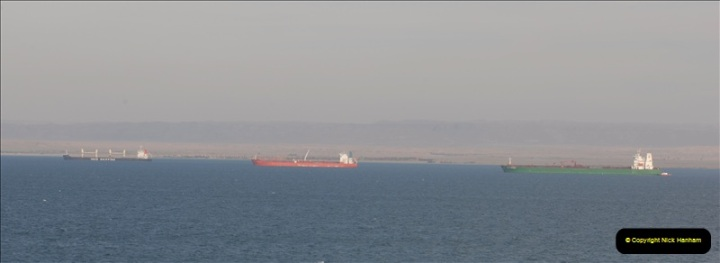 2011-11-10 North to South Transit of the Suez Canal, Egypt.  (263)
